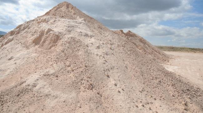 قسمتی از معدن ازومایت